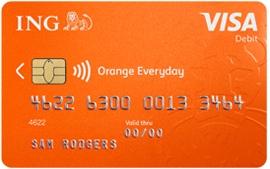 Image of an Orange Everyday card